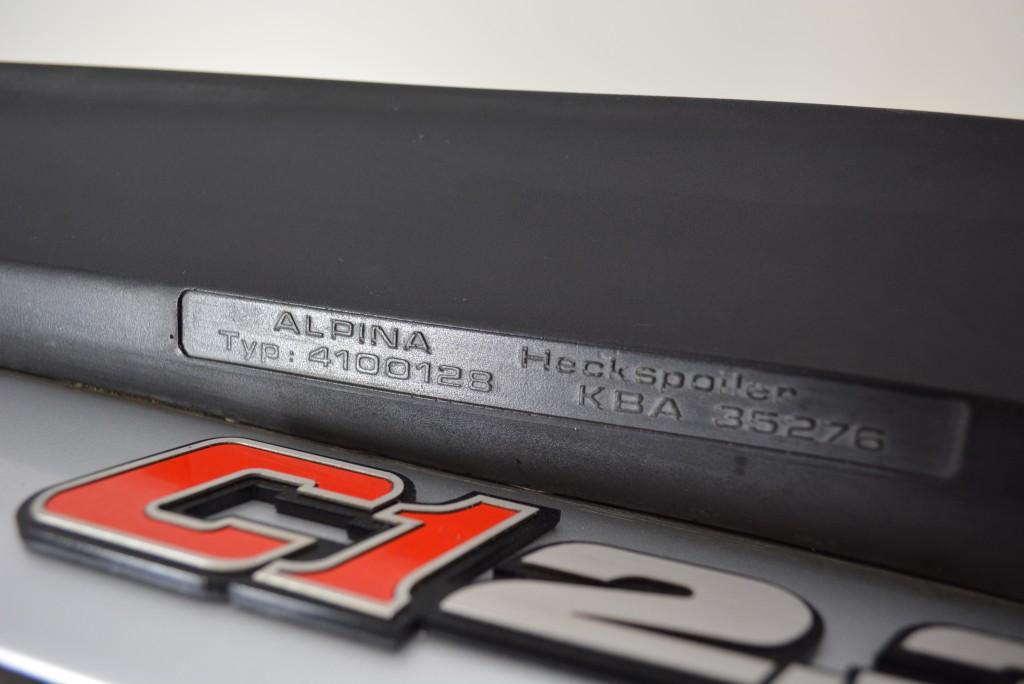 Badge emblem for bmw alpina C1 2.3